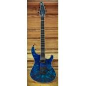 Mayones Regius 6 Buckeye Burl Blue
