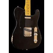 Kauffmann Guitars 56 T-model relic black C-shape mn 9.5 radius/Ultra lightweight swampash