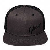 Gibson Charcoal Trucker Snapback Cap
