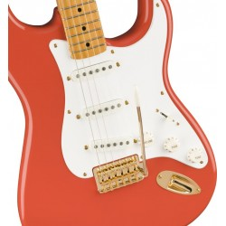 Squier Classic Vibe 50s Stratocaster FSR MN Fiesta Red with Gold Hardware