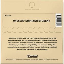 Dunlop Ukulele Sopraan Student Strings