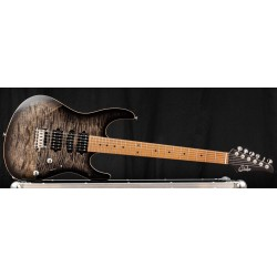 Suhr Modern Plus Trans Charcoal Burst Roasted Maple HSH
