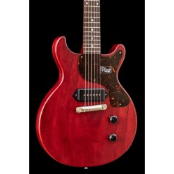 Gibson Custom 1958 Les Paul Junior Double Cut Reissue VOS Cherry Red