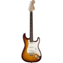 Squier Standard Stratocaster FMT, Rosewood, Amber Sunburst