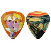Klee and Munch plectrum