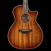 Taylor K24ce NU MET GRATIS BABY TAYLOR TOT EIND APRIL! Koa Series Grand Auditorium V-Class Bracing