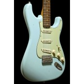 Fender Custom Shop 59 Strat Vintage Custom Relic Closet Classic faded daphne blue