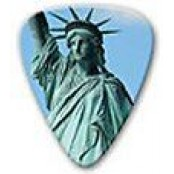 plectrum USA statue of liberty
