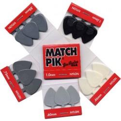 Dunlop Match Picks Nylon 6pack 0.88mm
