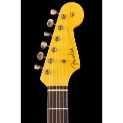 Fender custom shop 1960 Stratocaster custom-built ltd journeyman relic aged olympic white
