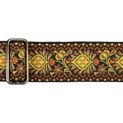 Gaucho gitaarband jacquard weave multi colours 07