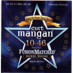 Curt Mangan snaren elek 10-46
