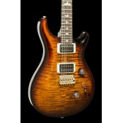 PRS Custom 24 Black Gold Wrap Pattern Thin