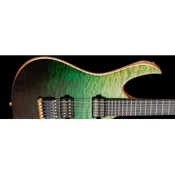 Mayones Duvell Elite 6 5A Quilted Maple Green Horizon