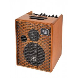 Acus ONE FOR STRINGS 6T, 130W, 3 kanalen, reverb, naturel hout