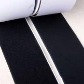 Klittenband pluche 10cm breed, 50cm lang