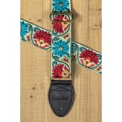 Souldier Guitarstrap Flower Green