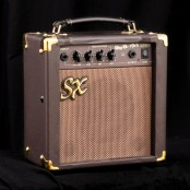 "SX acoustic guitar amp 10W 6,5""speaker"