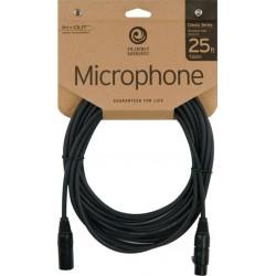 Planet Waves CMIC25 microfoon kabel