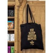Guitarking Eat Sleep Guitar Repeat Bag