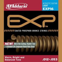 D'Addario EXP16 light Phosphor Bronze