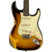 Fender Custom Shop 1960 Stratocaster, heavy relic, faded aged 3-color sunburst preorder