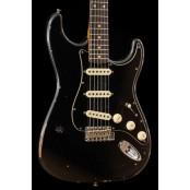 Fender Custom Shop Roasted Poblano Stratocaster Relic Ltd Ed Aged Black