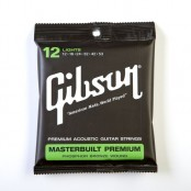 Gibson Masterbuilt Premium Acoustic Strings, Phosphor Bronze (Lights)