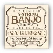 D'Addario snaren J61 banjo