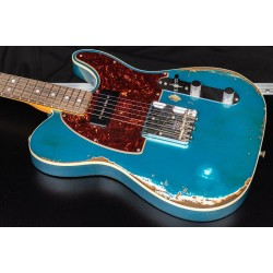 Fender Custom Shop 67 Telecaster P-90 Heavy Relic Bound Ocean Turquoise