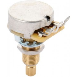 Gibson 500K OHM Audio Taper Potentiometer (Long Shaft)