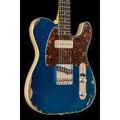 Kauffmann Guitars 63 T-model heavy relic ocean turquoise