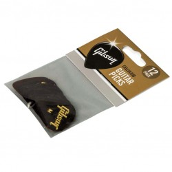 Gibson Tortoise Picks, 12 Pack, Heavy