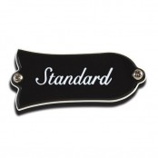 "Gibson Truss Rod Cover, ""Standard"" (Black)"