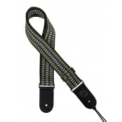 Gaucho gitaarband jacguard weave multi colours 04
