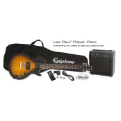 Epiphone Les Paul Standard Player Pack including Versterker