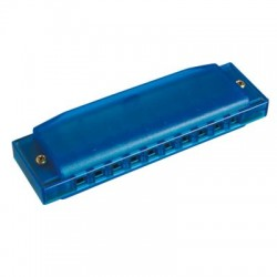 Hohner Happy Color Mondharmonica blue