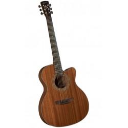 Bristol gitaar folk  BM15CE Triple O Cutaway Electric