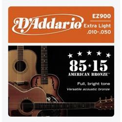D'Addario snaren Extra Light EZ900