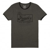 Fender Shirt Beer Label Mens Tee M