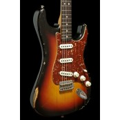 Fender Custom shop 63 strat relic 3tsb ash body USED/MINT