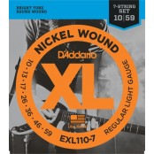 D'Addario snaren elektrisch EXL110-7