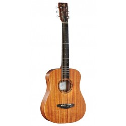Veelah Togo-M with mahogany top and back