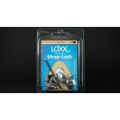 Loxx Strap Locks Nickel Plated