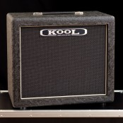 Kool Open Back 1x12 Cabinet Black Rose Tolex Celestion G12H75 8ohm