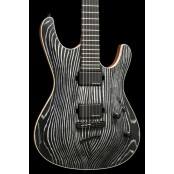Mayones Setius 6 Gothic Black Luminlay Pored