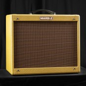 Marble Bluebird with Celestion Alnico Gold Speaker incl boostfootswitch