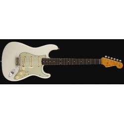 Fender custom shop 1960 Stratocaster custom-built ltd journeyman relic aged olympic white