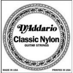 D'Addario losse snaar nylon E (dunne)
