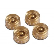 Gibson speed knobs 4 gold